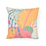 """So17754004 Ananas 18"""" Pillow Tropical By Schumacher Furniture and Accessories 2"""