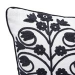 """So7209004 Talitha 18"""" Pillow Blackwork By Schumacher Furniture and Accessories 2"""