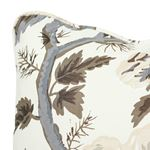 """So17445004 Pyne Hollyhock 18"""" Pillow Charcoal By Schumacher Furniture and Accessories 4"""