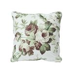 """So17720104 Nancy 18"""" Pillow Grisaille By Schumacher Furniture and Accessories 2"""