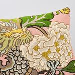 So17328018 Chiang Mai Dragon Pillow Blush By Schumacher Furniture and Accessories 4