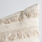 """So7265006 Acadia 22"""" Pillow Greige By Schumacher Furniture and Accessories 2"""
