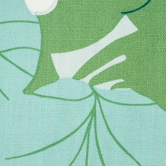 """So17863004 Sea Grapes 18"""" Pillow Palm By Schumacher Furniture and Accessories 2"""