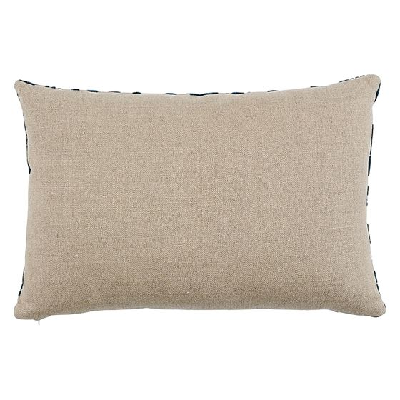 So7297315 Pavone Velvet Pillow Peacock By Schumacher Furniture and Accessories 2