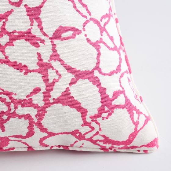 """So17955206 Sidonie 22"""" Pillow Magenta By Schumacher Furniture and Accessories 4"""