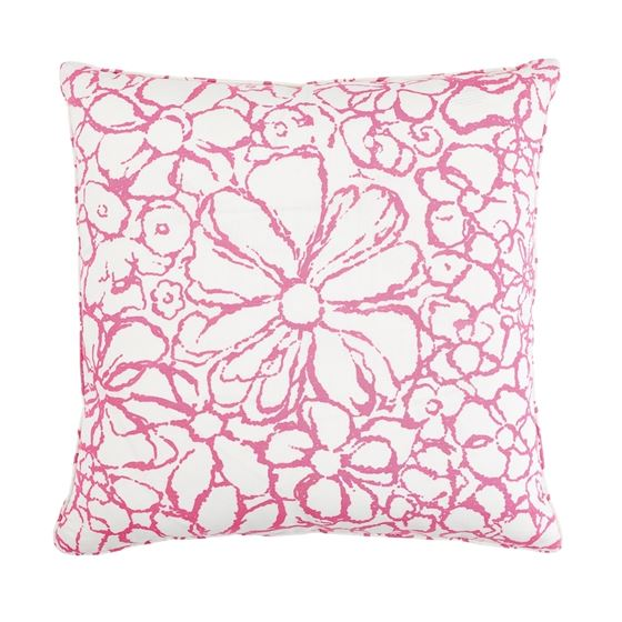 """So17955206 Sidonie 22"""" Pillow Magenta By Schumacher Furniture and Accessories 2"""
