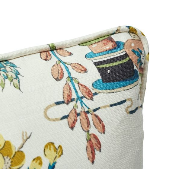 """So17673204 Ming Vase 18"""" Pillow Multi By Schumacher Furniture and Accessories 2"""