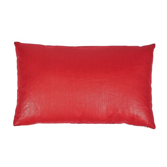 So17448714 Ziggurat Pillow Blue and Red By Schumacher Furniture and Accessories 2
