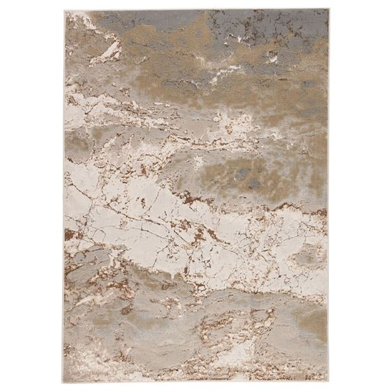 Jaipur Living Cisco Abstract Gray Brown Area Rug  1