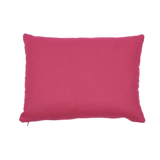 So7739110 Ladybird Pillow Yellow and Pink By Schumacher Furniture and Accessories 2